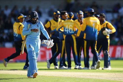 Sri Lanka stunned to hosts and kept their playoff hopes alive New Zealand v Pakistan - ICC Cricket World Cup 2019