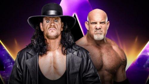 Goldberg had sent a warning to the Undertaker