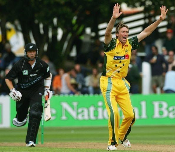 Glenn McGrath is the most successful bowler in World Cup history. ( 2003 wc )