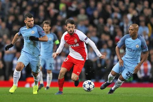 UEFA Champions League Round of 16: First leg. Bernardo Silva ran rings around the entire City team.