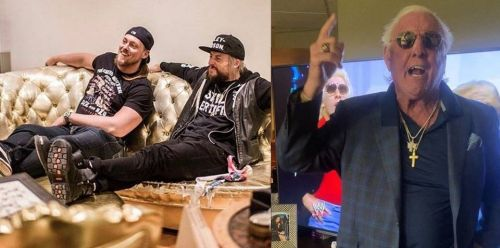 Enzo Amore and Big Cass had words of high praise for WWE legend Ric Flair