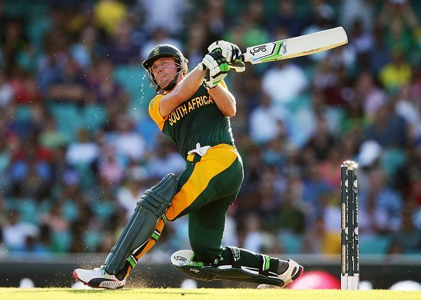 AB de Villiers lit up the SCG with a magnificent 162 against West Indies in the 2015 World Cup