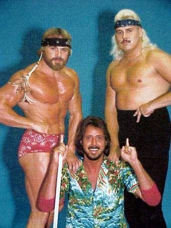 Larry Latham, Jimmy Hart, and the future Honky Tonk Man