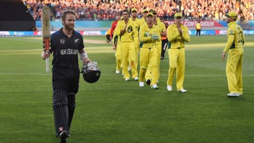 New Zealand dodged a bullet and snuck a 1-wicket win Australia in the pool match