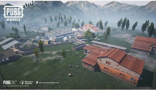 GLANCE OF THE MAP FOR DEATHMATCH