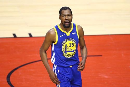 Kevin Durant faces a lengthy spell on the sidelines