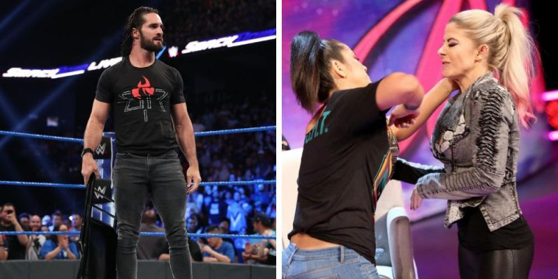 Two top champions teamed up while a General Manager picked up a title win on SmackDown.