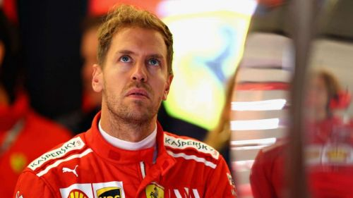 Ferrari's Sebastian Vettel has a major crisis on his hands