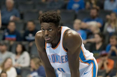 Jerami Grant was one of the Oklahoma City Thunder's best performers during the 18-19 season