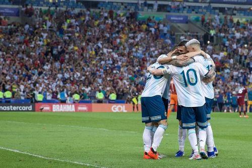 Argentina will face Brazil in the semi-final