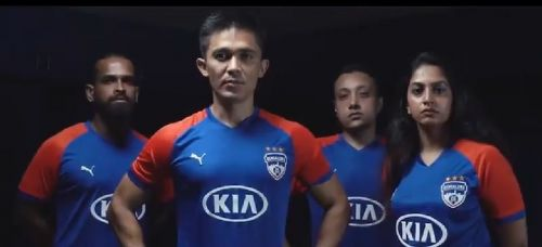 Bengaluru FC have revealed their home jersey for the upcoming 2019-20 ISL season