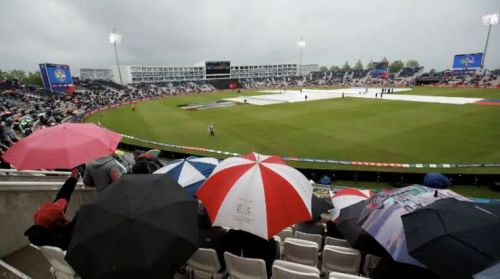 Weather Forecast in Southampton looks fine. (Courtesy:BCCI/Twitter)