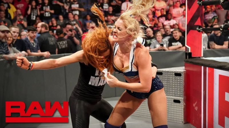 Will Lacey Evans or Becky Lynch gain the momentum heading into their RAW Women