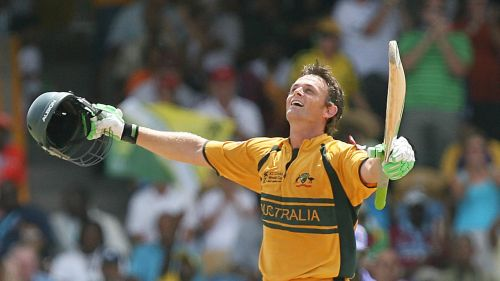 Gilchrist was an important part of the Aussie side that won three World Cups on the trot