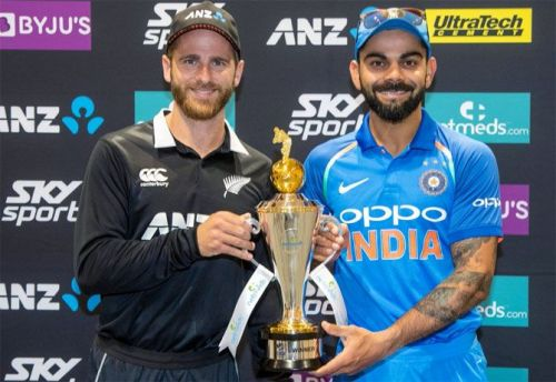 India will take on New Zealand in 5 T20Is, 3 ODIs and 2 Tests.