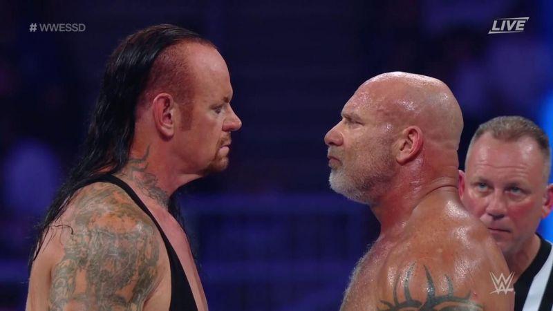 The Undertaker added Bill Goldberg