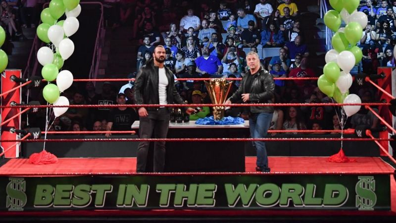 Shane McMahon and Drew McIntyre on RAW