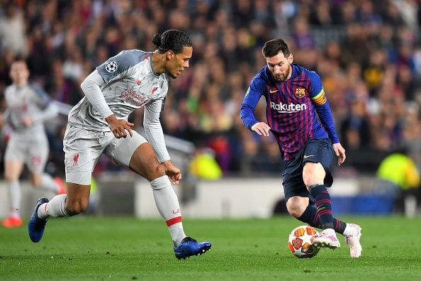Virgil van Dijk and Lionel Messi are the two favorites for the 2019 Ballon d