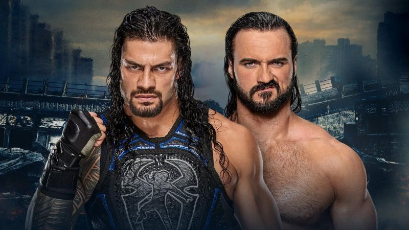 Roman Reigns will face Drew McIntyre one more time at Stomping Grounds this Sunday night!