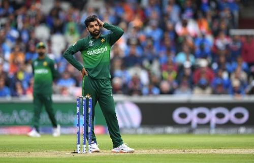 Shadab Khan had a poor show with the ball
