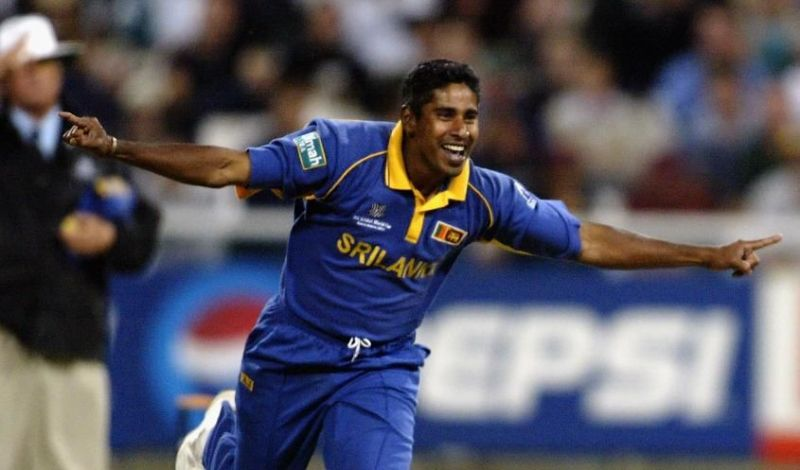 Chaminda Vaas in Cricket World Cup 2003