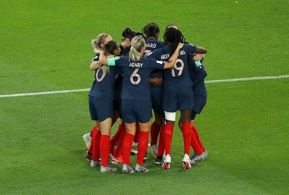 France v Korea Republic: Group A - 2019 FIFA Women