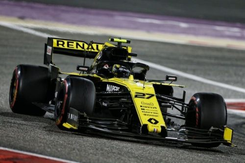 Hulkenberg's impressive run at Bahrain was thwarted by engine problems