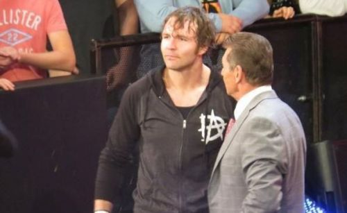 Jox Moxley and Vince McMahon