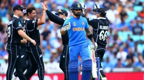 Virat Kohli will be looking to make another big score against the Kiwis.
