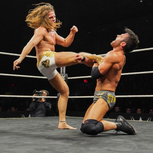 Matt Riddle's brutal kicks were on full display at Takeover
