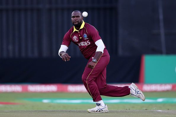 Ashley Nurse is the lead spinner for the West Indies