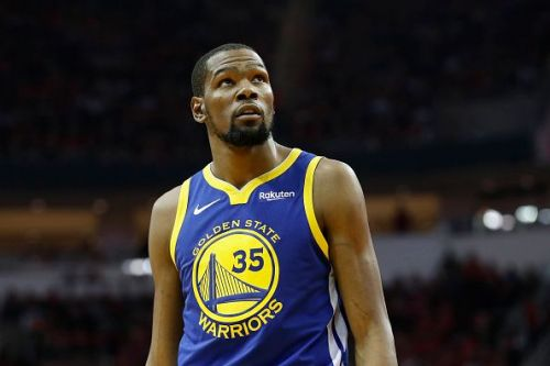 Kevin Durant has spent the past three seasons with the Golden State Warriors
