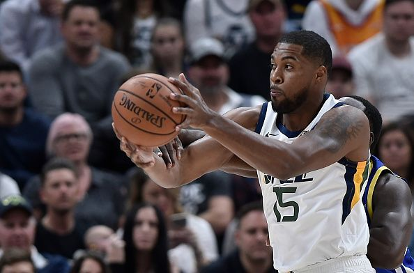 Derrick Favors is among the Utah Jazz players being linked with a summer exit