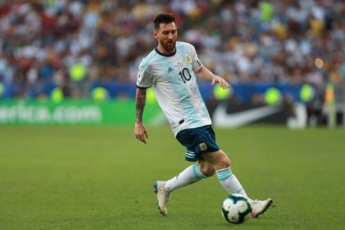 Lionel Messi is not looking his usual s at the Copa America