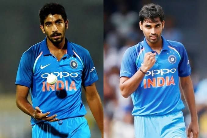 Bumrah and Bhuvanesh Kumar