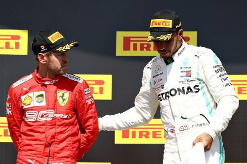 F1 Grand Prix of Canada, where Vettel finished second and Hamilton stood on top