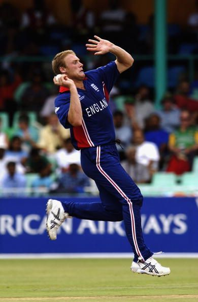Andrew Flintoff's bowling gave some respectability to his World Cup figures.