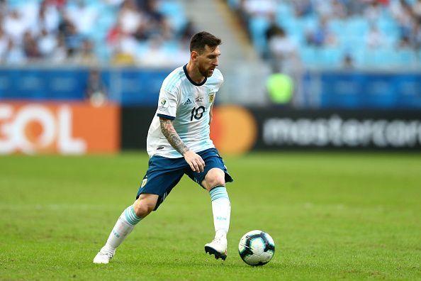 Qatar v Argentina: Group B - Copa America Brazil 2019