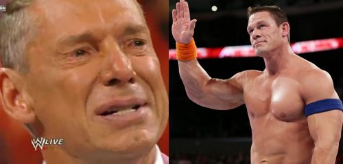Vince and Cena
