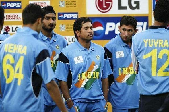 भारतीय क्रिकेट टीम 2003 विश्वकप