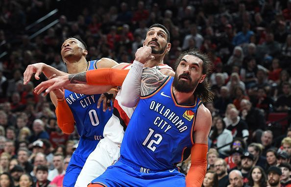 Steven Adams is being linked with a move to Boston