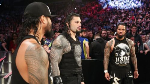 Could we get the Bloodline featuring Roman Reigns and the Usos?