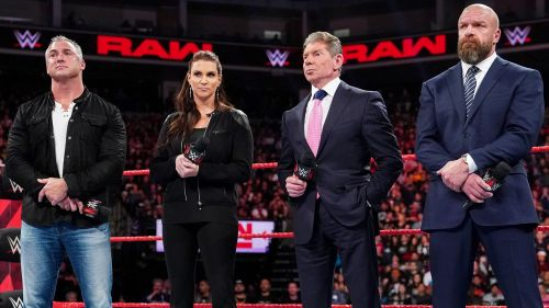 Brock Lesnar could find himself at odds with the McMahon family, starting with Shane