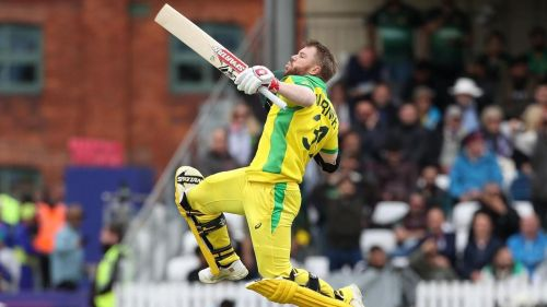 Warner smashed a brilliant hundred against Pakistan in the previous game.
