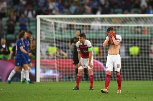 Chelsea beat Arsenal in the UEFA Europa League Final