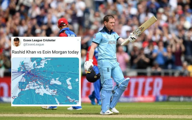 Eoin Morgan smashed most 6s in ODI inning