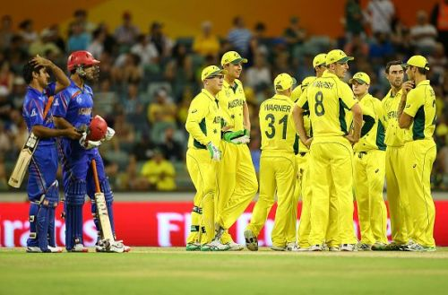 The Aussies have defeated Afghanistan in both of their previous encounters.