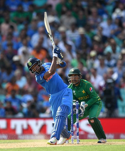 Pandya's hitting skills were on full display against Pakistan in the CT17 final