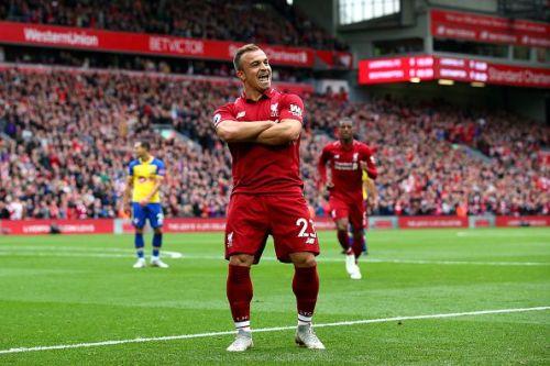 Xherdan Shaqiri gives an update on his Liverpool future.