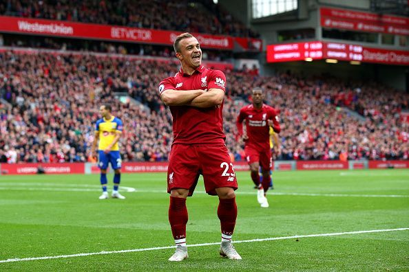 Xherdan Shaqiri gives an update on his Liverpool future.
